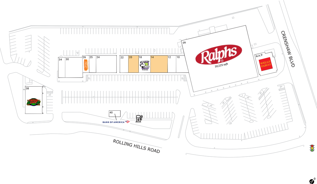 Torrance, Ca  Available Retail Space & Restaurant Space