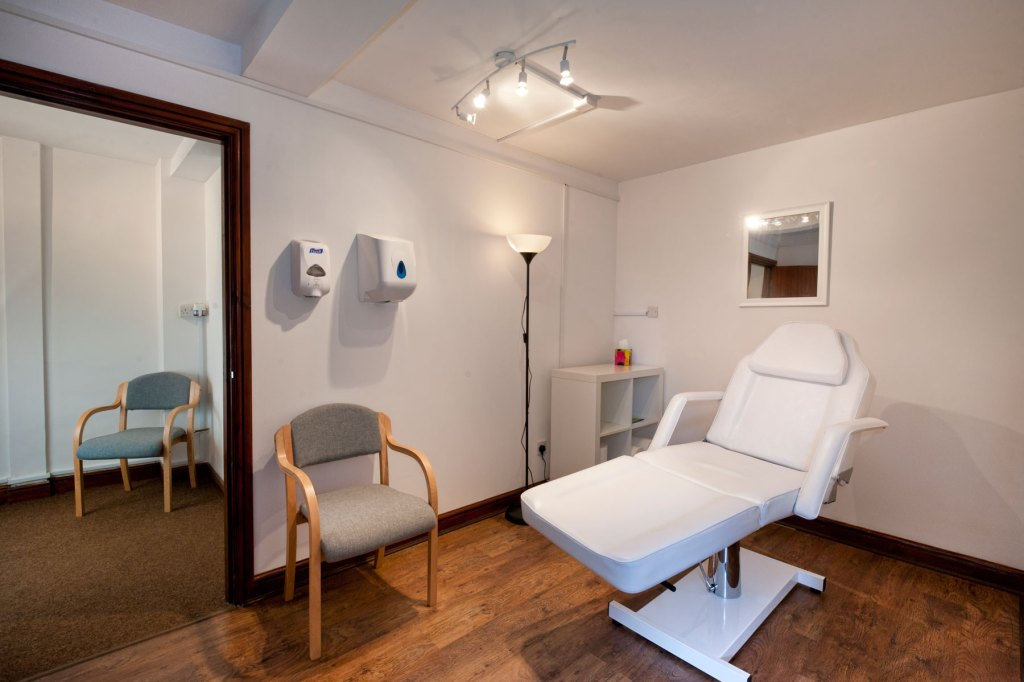 Commercial Property Photography - Alternative Therapies Treatment Room