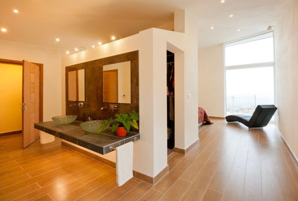 Shropshire Property Photography - Fairview - Master bedroom en-suite
