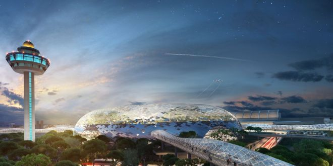 Project Jewel – Singapore Changi Airport Shopping Paradise by End of 2018
