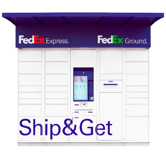 Self Service FedEx Ship & Get Locker for 2019 Apartment Amenity Guide