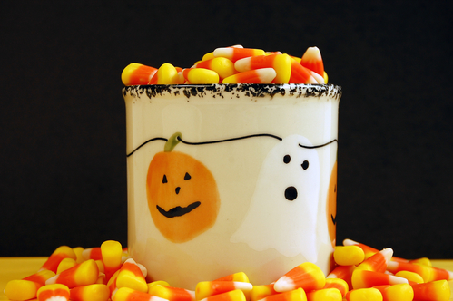 Halloween Candy In Jar For Apartment Resident Event Ideas Blog