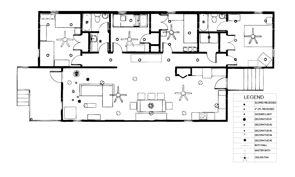 Reflected Ceiling Plan (RCP)