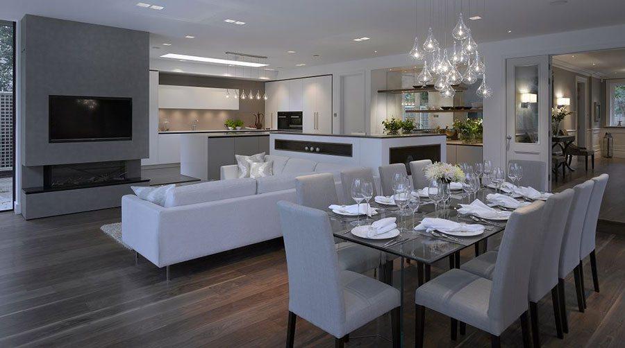 Dividing Your Open-plan Kitchen Living Space