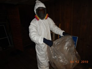 Proper PPE for Sewage Cleanup