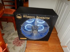 Hydroxyl Machine Odor Control