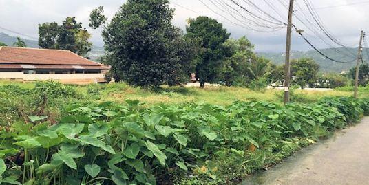 Ideal Resort / Villa site land in Bophut on Koh Samui