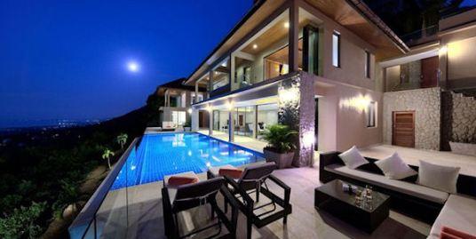 Immaculate 6 Bedroom Sea View Villa Bang Por