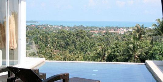 Chaweng hillside villa with stunning sea views Koh Samui