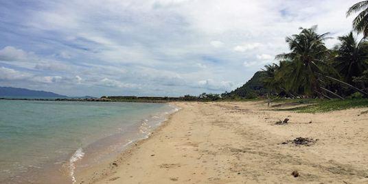 Rare, large beachfront block of land on Maenam Beach, Koh Samui