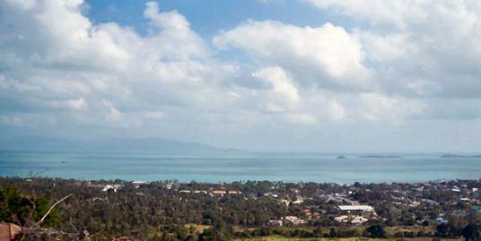Large land plot with views for sale, Bophut, Koh Samui