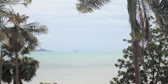 Land with sea views for sale in Plai Laem on Koh Samui