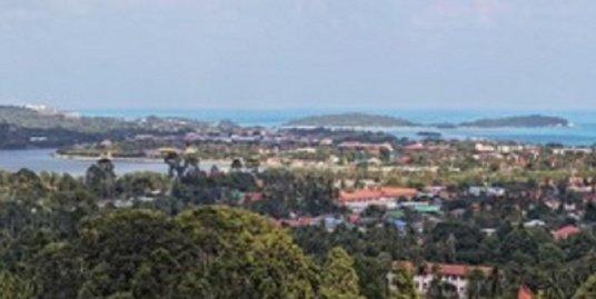 Chaweng Sea View Land 11 Rai for Sale