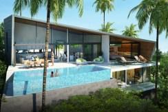 3 Bedroom Luxury Sea View Villa Maenam Samui