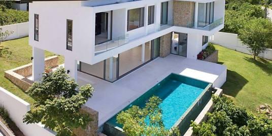 New Bophut Modern Sea View Villa