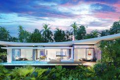 Sea View Villa's Bophut Koh Samui