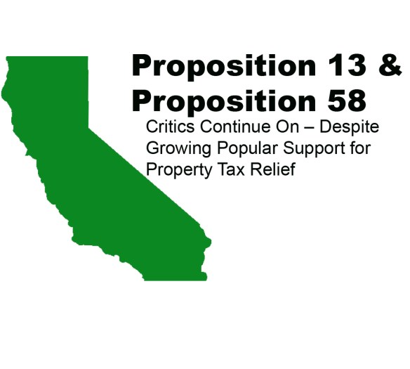Proposition 58 and Proposition 13 in California