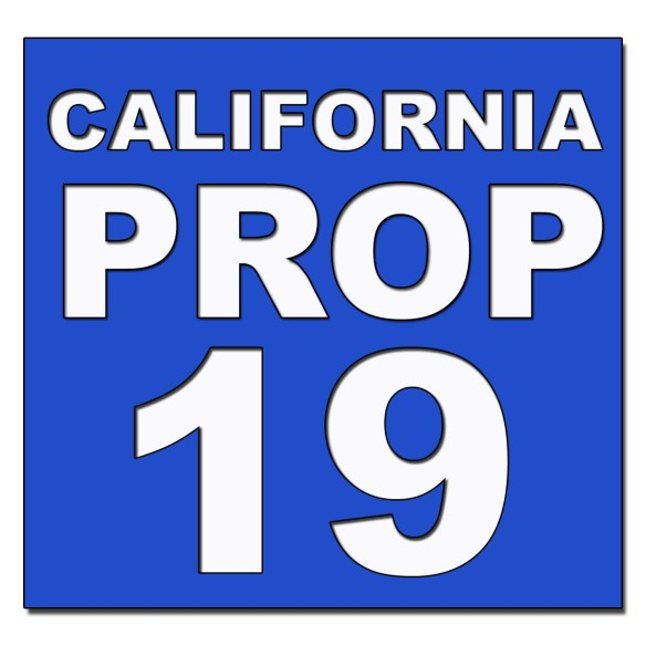 California Prop 19 Rules for Transferring Property Taxes