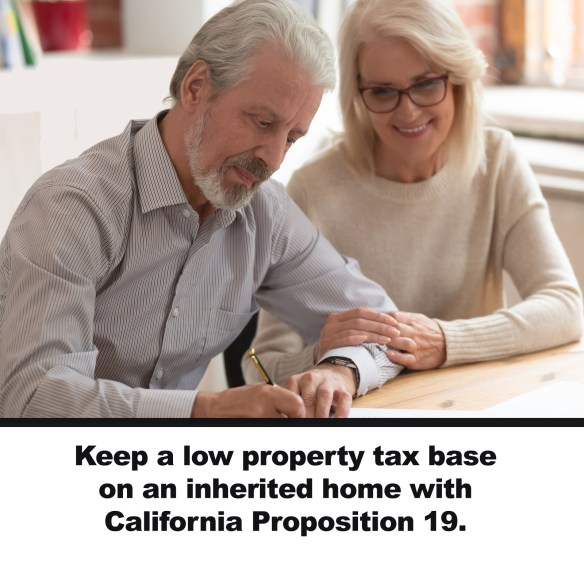Keep a low property tax base on an inherited home