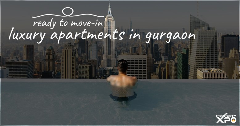 Luxury Apartments ready to move in gurgaon