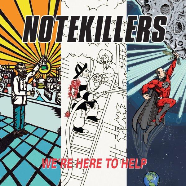 Notekillers   We're Here To Help   LP  760137999515