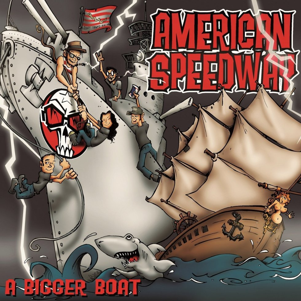 American Speedway   A Bigger Boat   881182110219   881182110226