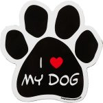 imagine_this_i_love_my_dog_paw_shaped_car_magnet-150x150
