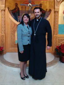 Presbytera Andriana & Father Theologos Drakos