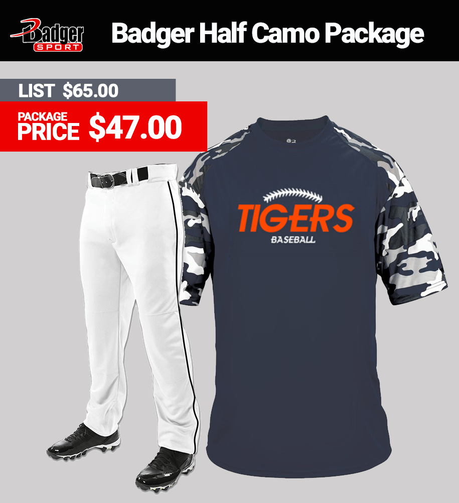 Baseball Uniforms Packages Youth