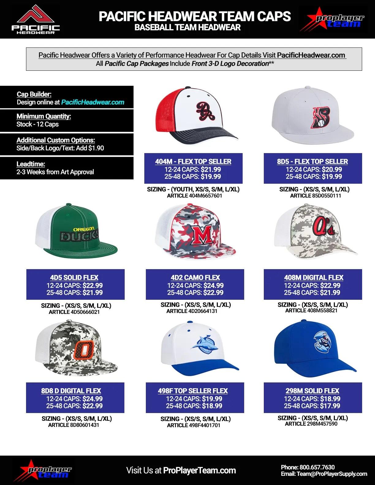 baseball headwear proplayerteam com