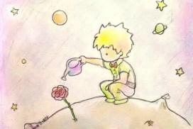 Маленький принц с переводом на польский