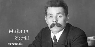 Максим Горький на польском языке