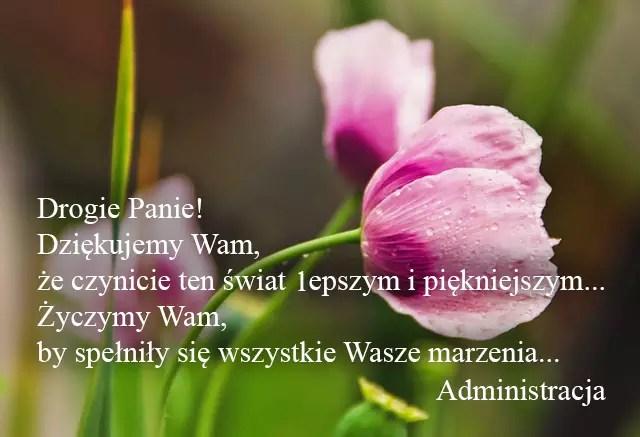 Поздравления с женским днём на польском язые от ProPolski