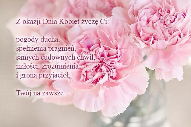 Поздравления с 8 марта на польском язые от ProPolski