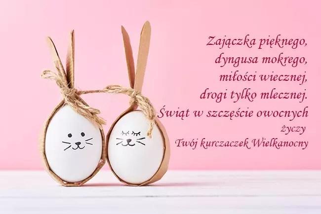 Веселое поздравление с Пасхой на польском