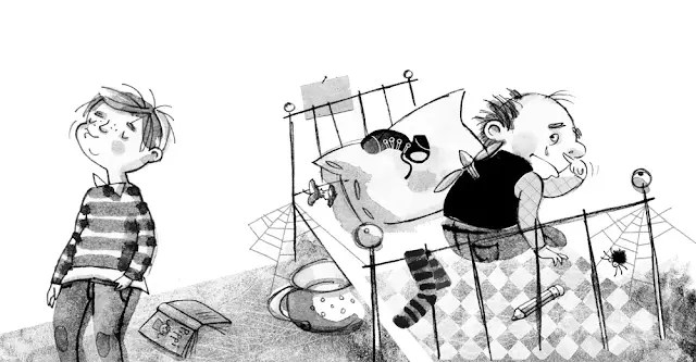 Карлсон на польском языке, глава 4, чтение сказки + разбор, 1 и 2 части