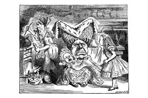 Алиса в стране чудес на польском языке, чтение 5 главы + разбор