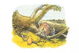 Винни-Пух на польском языке, книга вторая, глава 9: чтение