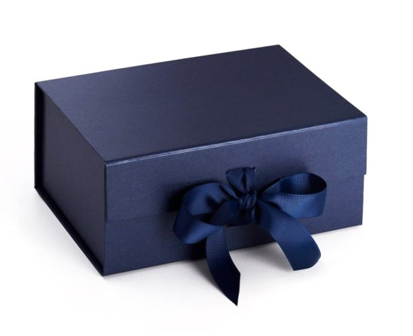 Personalised Gift Box Blue