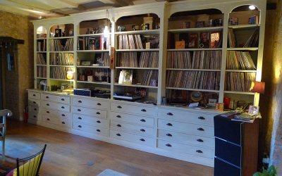 L'amour des livres conduit naturellement à créer sa bibliothèque !