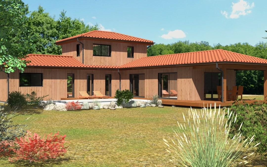 Maison neuve : le bois et le contemporain ont la cote…