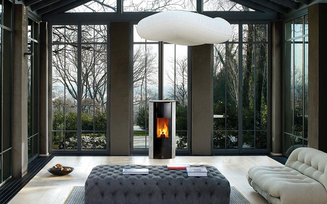 Se chauffer au bois rime avec élégance et confort
