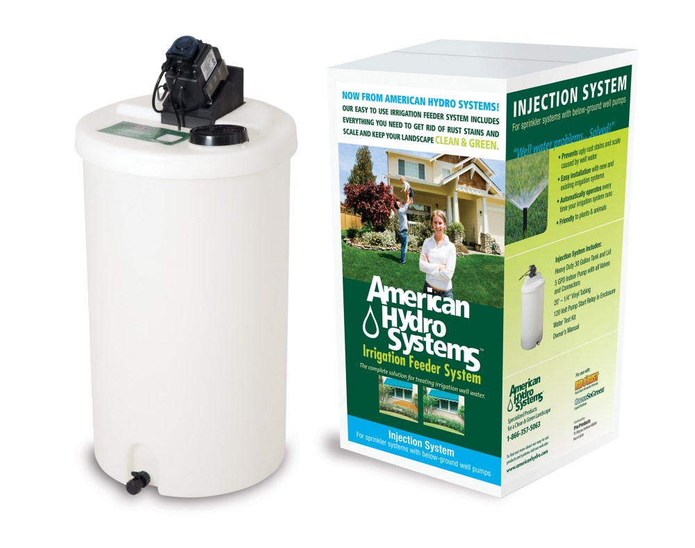medium resolution of american hydro 30 gal injection system