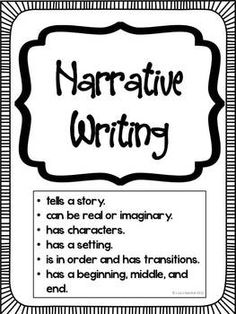 Narrative Writing Flashcards by ProProfs
