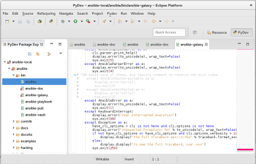 PYDEV Python GUI Libraries