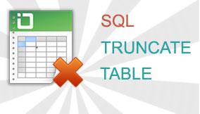truncate multiple tables in MySQL