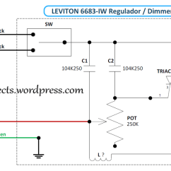 Leviton 3 Way Dimmer Wiring Diagram Electric Guitar 6683 Iw 600w | Proprojects