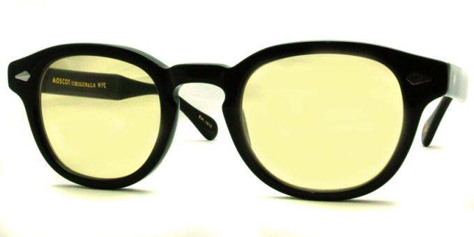 MOSCOT  /  LEMTOSH Sun  / BLACK - LIGHT YELLOW  /  ¥30,000 + tax