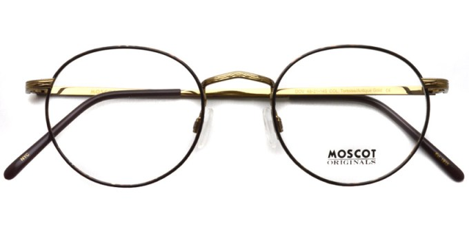 MOSCOT / DOV / Tortoise/Antique Gold / ¥31,000 + tax