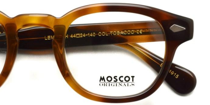 MOSCOT  /  LEMTOSH  /  TOBACCO  /  ¥27,000 + tax